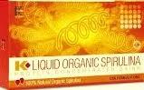 Gambar Liquid Spirulina Organic K-link Super Murah Rp.95rb/Box beli 2 free B.kirim DKI