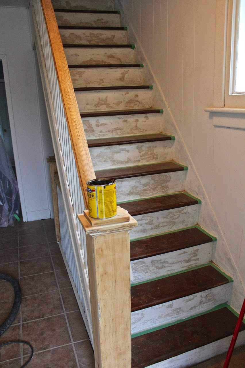 Plus, We Soon Discovered That The Primer That Had Been Suggested To Us At  Home Depot Didnu0027t Keep The Previous Layers Of Paint And Stain From Bleeding  ...