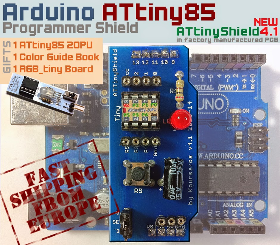 Attiny85 projects