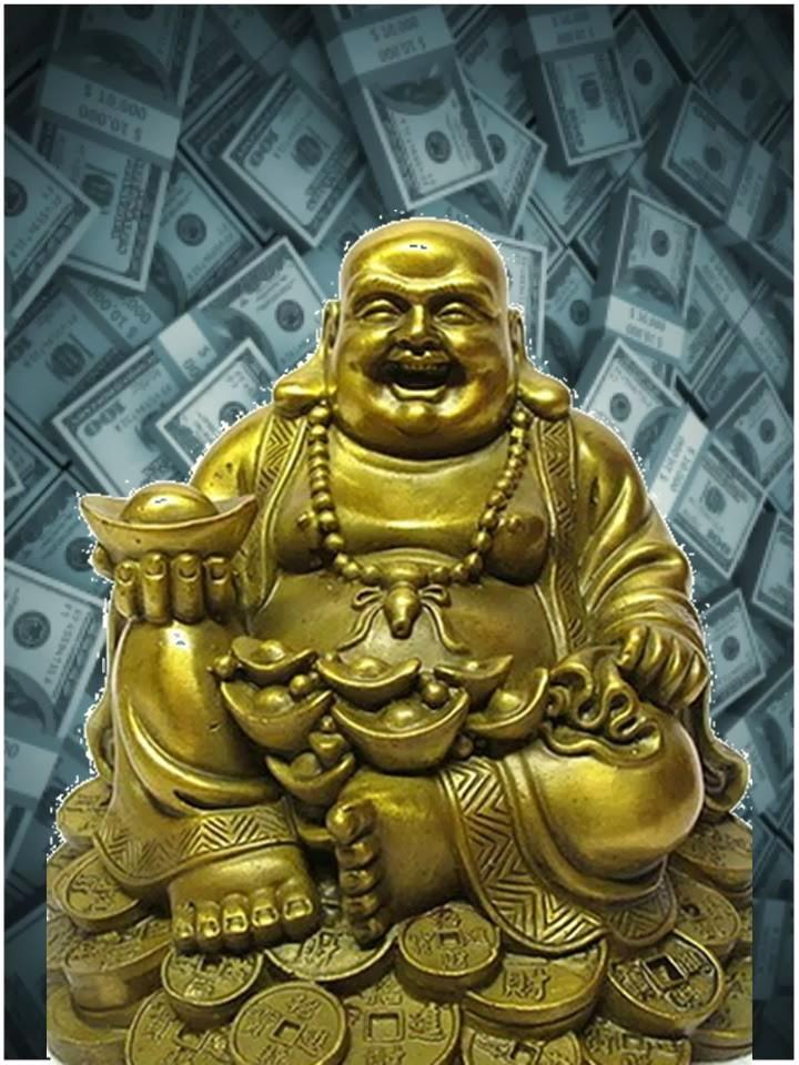 Oraci n al buda de la buena suerte fortuna y loterias - Para la buena suerte ...