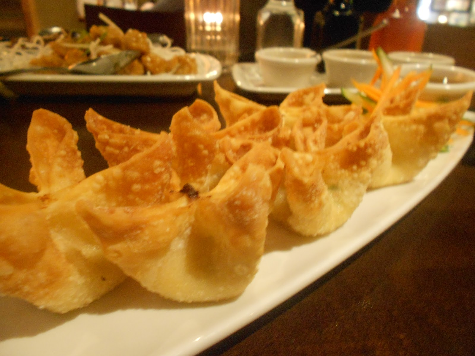cream cheese wontons tom ka all fried and crispy and ready l jpg cream ...