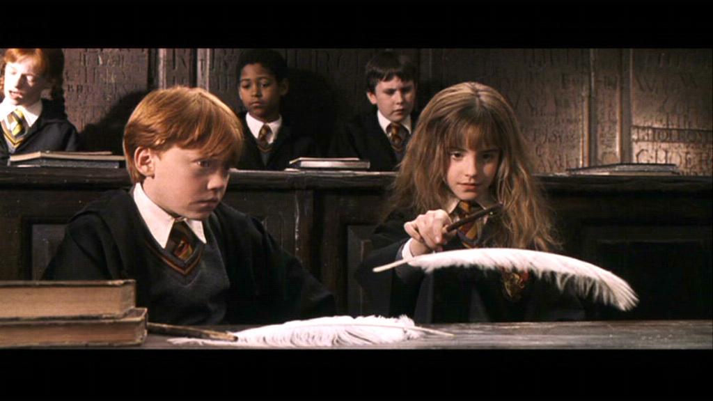 Otro punto de vista. Ron+Weasley+Hermione+Granger