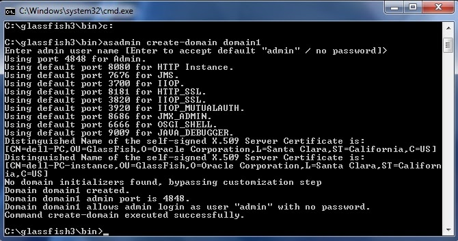 how to create domain server