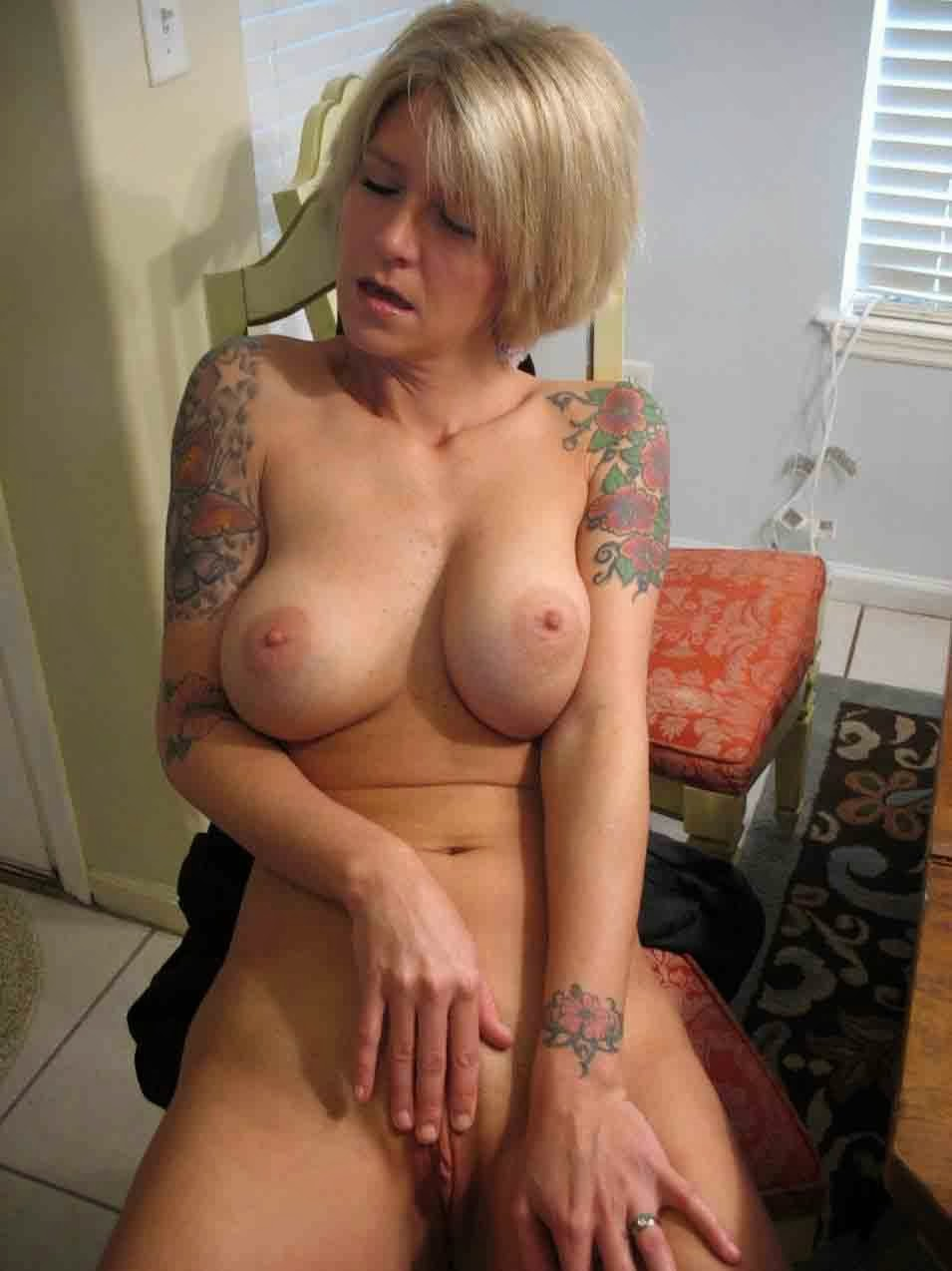 Tattooed wife nude