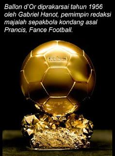 Sejarah Adanya Penghargaan FIFA Ballon D'Or Bola
