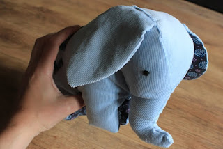 Stoff-Elefant nähen