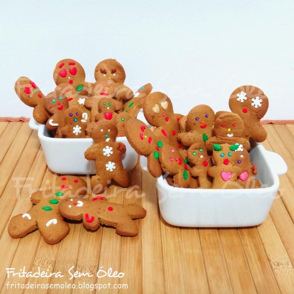 Gingerbread / Biscoito de Gengibre na AirFryer