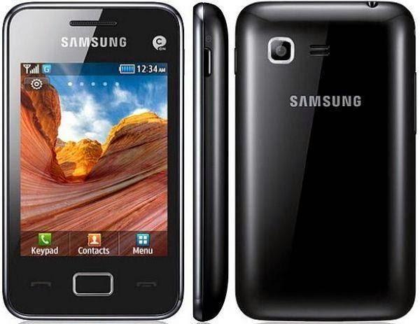 Мобильный телефон Samsung Star 3 Duos S5222 Black c поддержкой одновременной работы двух SIM-карт