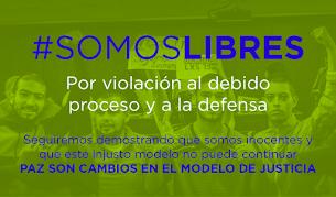#NoMasMontajesJudiciales