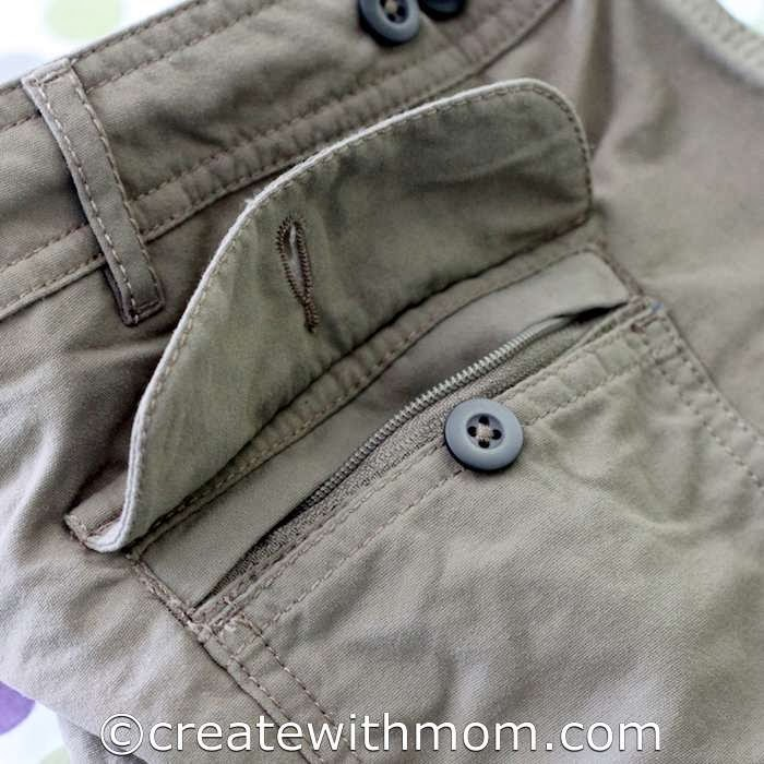 Create with mom win your own travel clothes from clothing for Travel shirts with zipper pockets