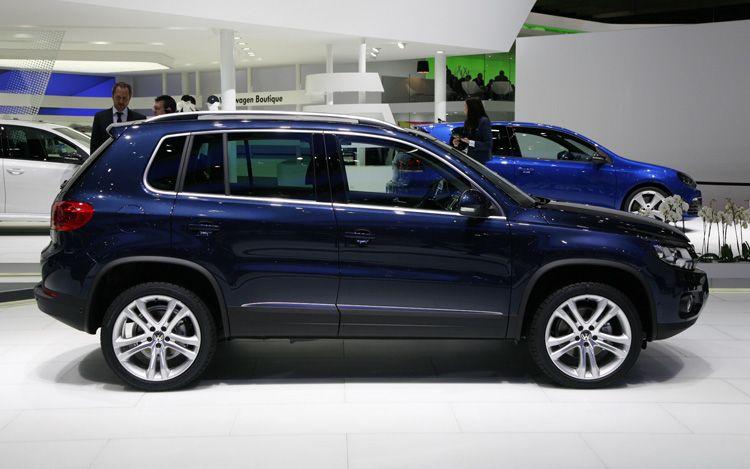 2011 Cars 2012 Volkswagen Tiguan