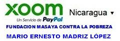 TU DONATIVO ONLINE DIRECTO Y RAPIDO A NICARAGUA DESDE AQUI;