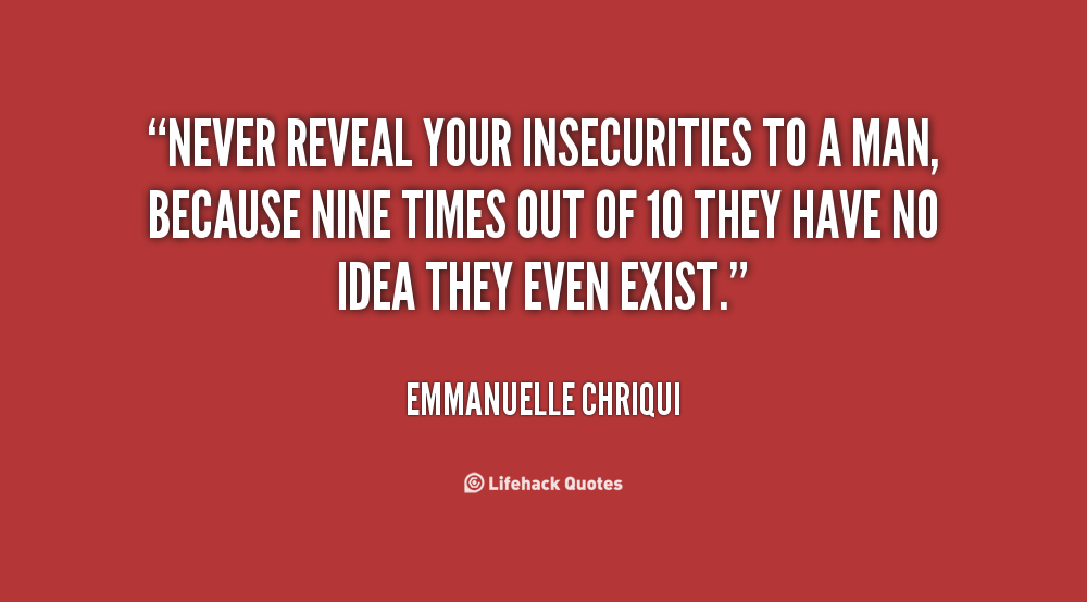 insecurity problems in relationships