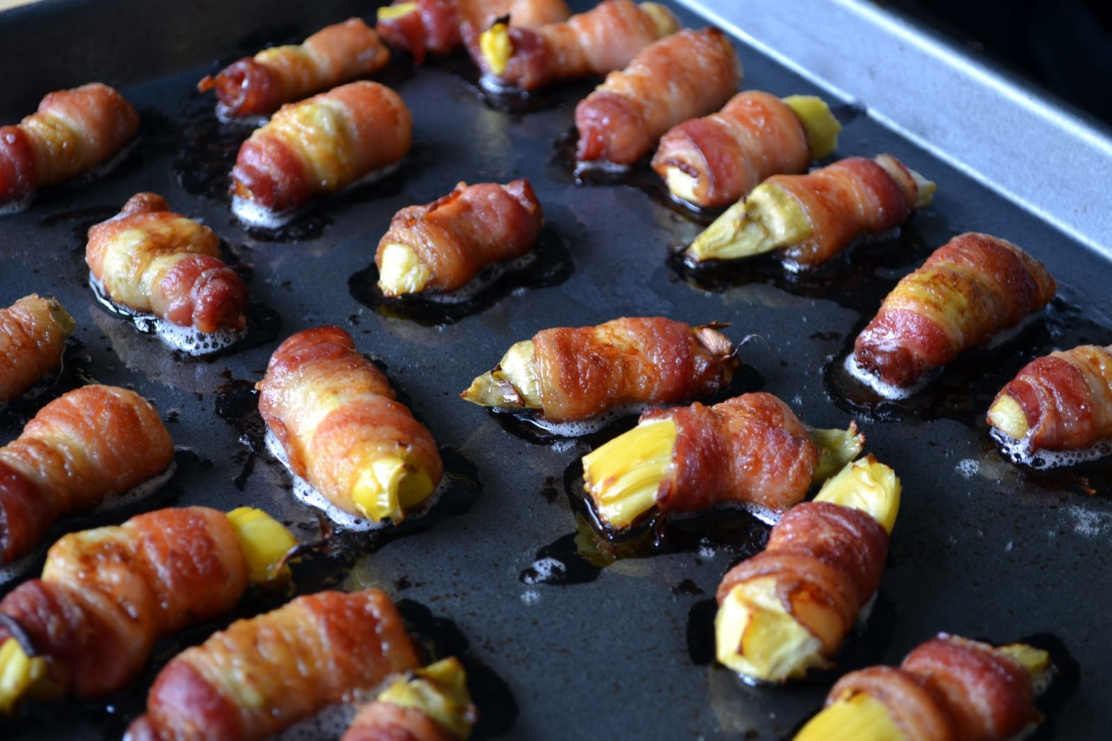 ... Housewives: Bacon Wrapped Artichoke Hearts with Lemon Dijon Aioli