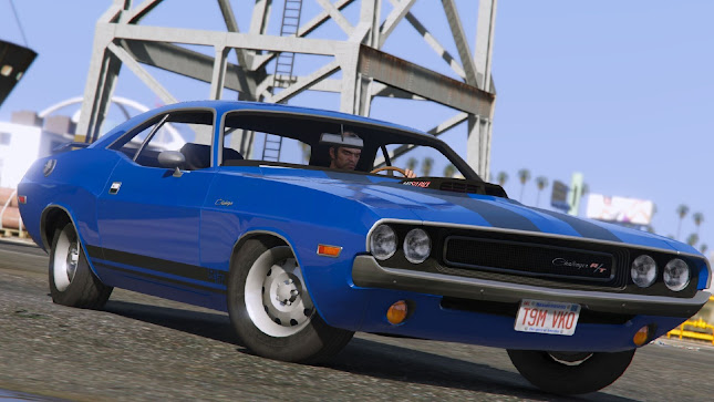 Dodge Challenger RT 440 Six Pack 1970 para GTA 5