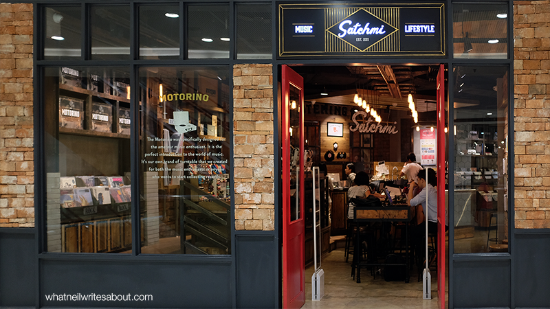 Satchmi Megamall Coffee and Music Facade Review