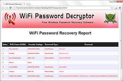wifi password cracker
