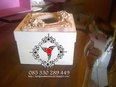 Souvenir Pernikahan Dari Bahan MDF Siap Pakai