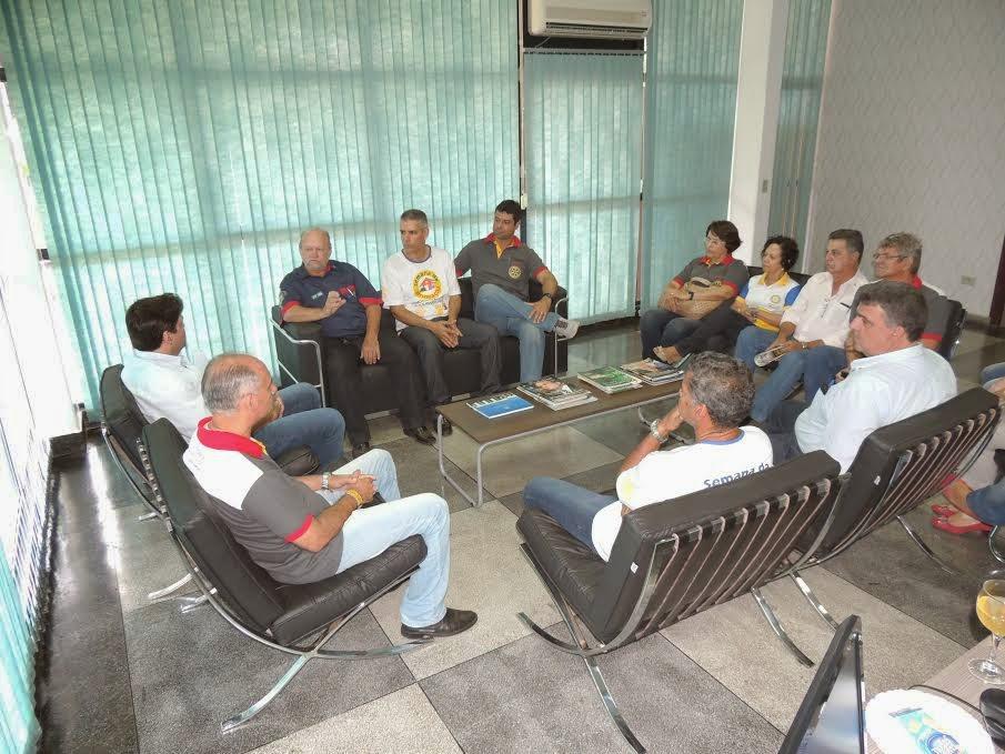 Governador do Rotary visita Prefeitura de Barra do Garças