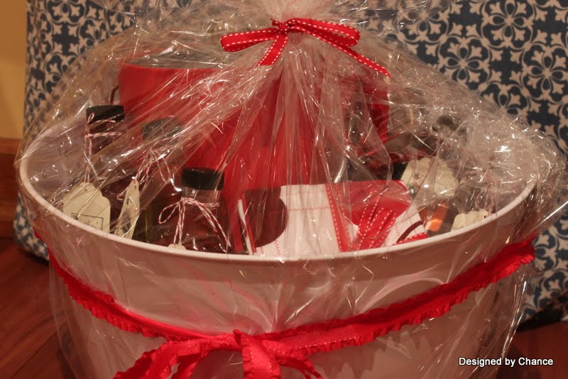 Designed By Chance Drink Theme Gift Basket