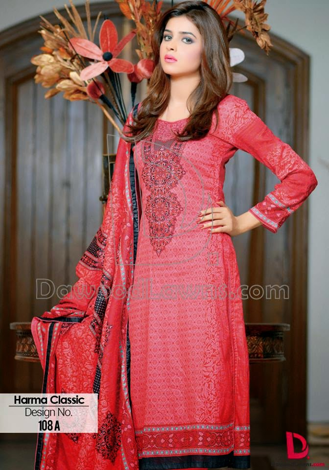 Harma Lawn Prints Summer Collection 2015