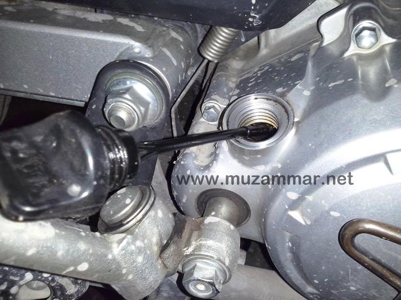 Tips mendinginkan suhu mesin motor yang tanpa radiator . . . ala ane
