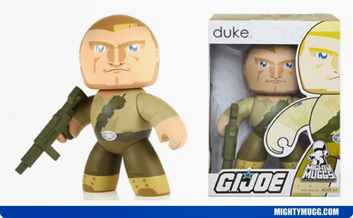 Duke G.I.JOE Mighty Muggs Wave 1