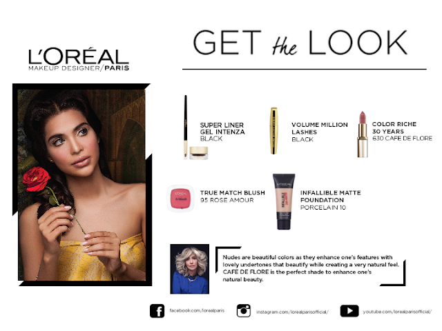 Sana Sarfaraz Photoshoot for Loreal Paris #ColorEverAfter‬