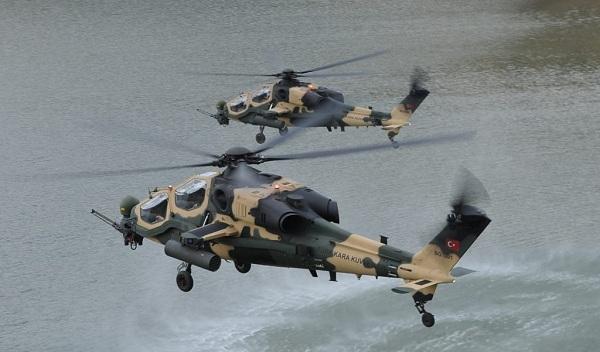 Απτόητοι οι μογγόλοι: Και Τουρκικά επιθετικά ελικόπτερα στα 70 μέτρα πάνω από τη Παναγιά!
