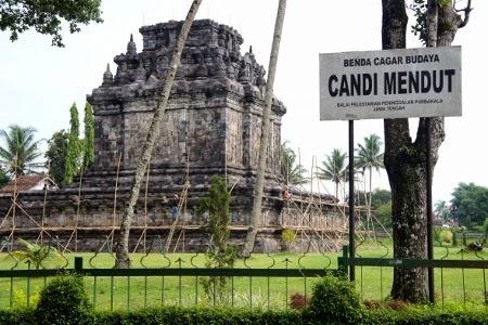 Sejarah Candi Mendut di Magelang Jawa Tengah