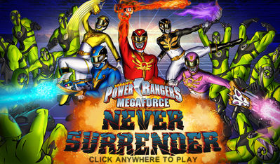power rangers megaforce games