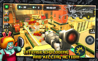 Screenshots of the Action of Mayday Last Defense for Android tablet, phone.