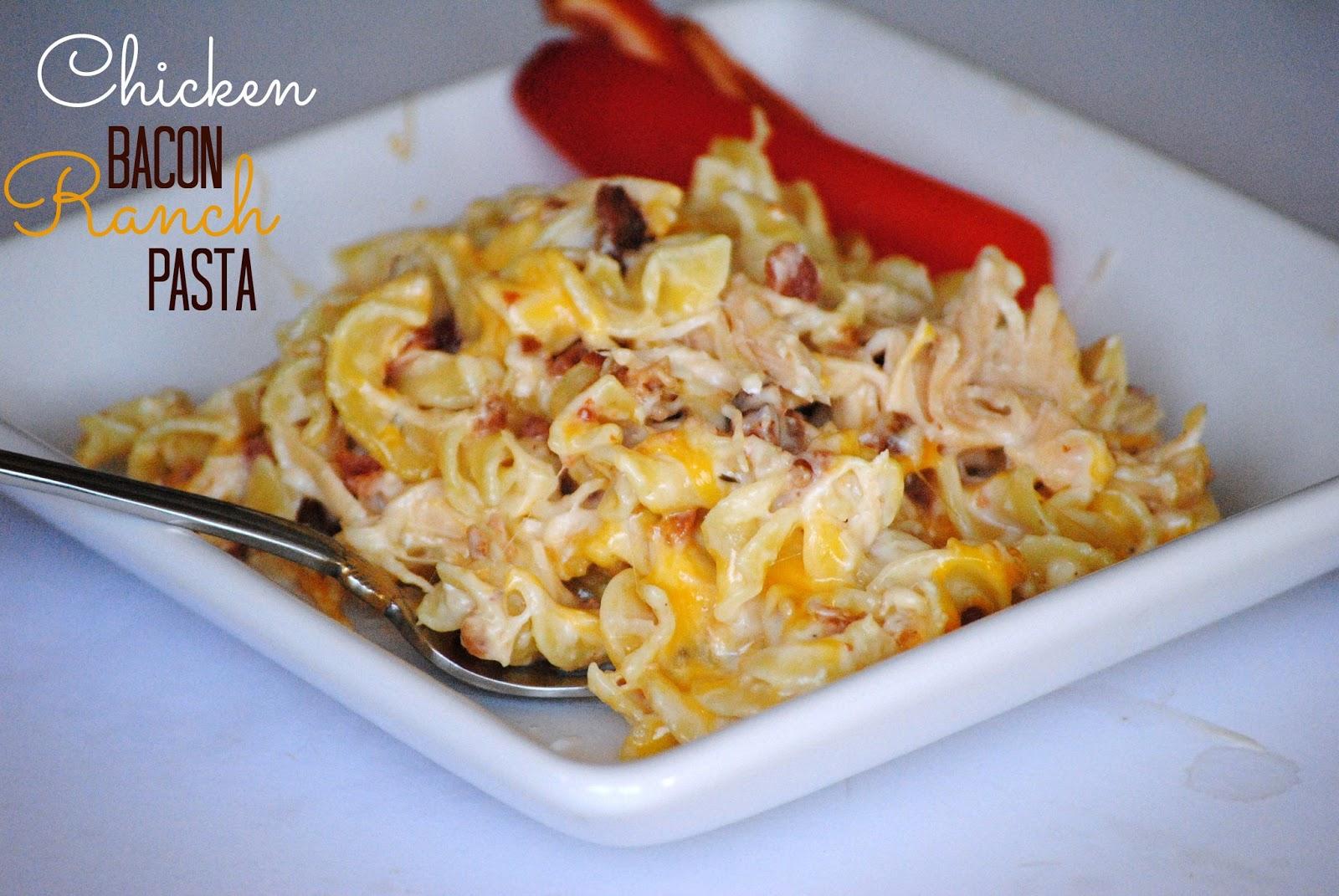 bacon ranch pasta click here for printable version 10 12 oz pasta ...