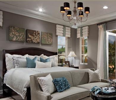Decorar habitaciones pinturas dormitorios matrimonio - Decoracion pintura dormitorios ...
