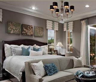 Decorar habitaciones pinturas dormitorios matrimonio for Decoracion pintura habitaciones