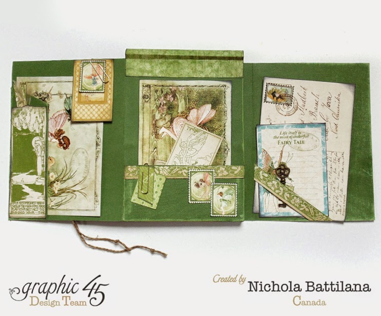 Graphic 45 Once Upon a Springtime Journal - Nichola Battilana