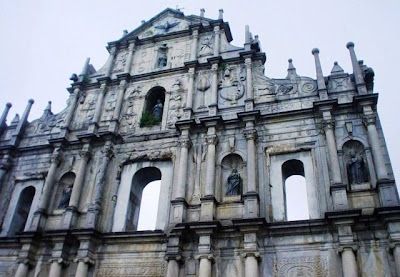 Macao - Catedral San Pablo