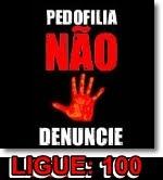 Somos contra a pedofilia!