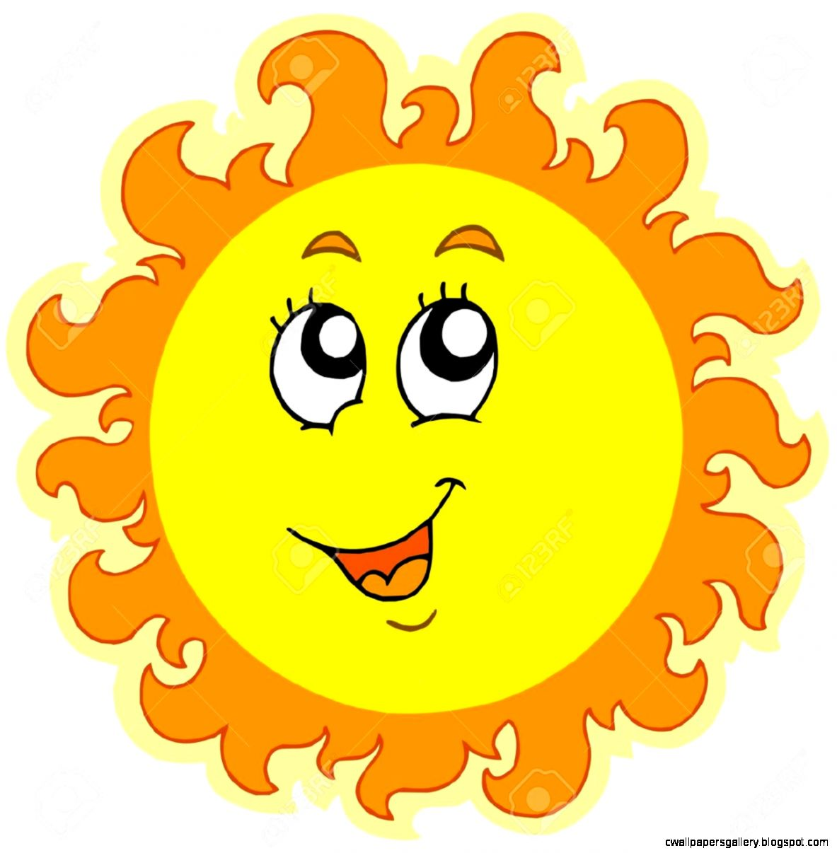 Sun Clipart Coloring  Clipart Panda   Free Clipart Images