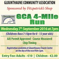 Glounthaune 4 mile nr Cork City...Wed 7th Sept