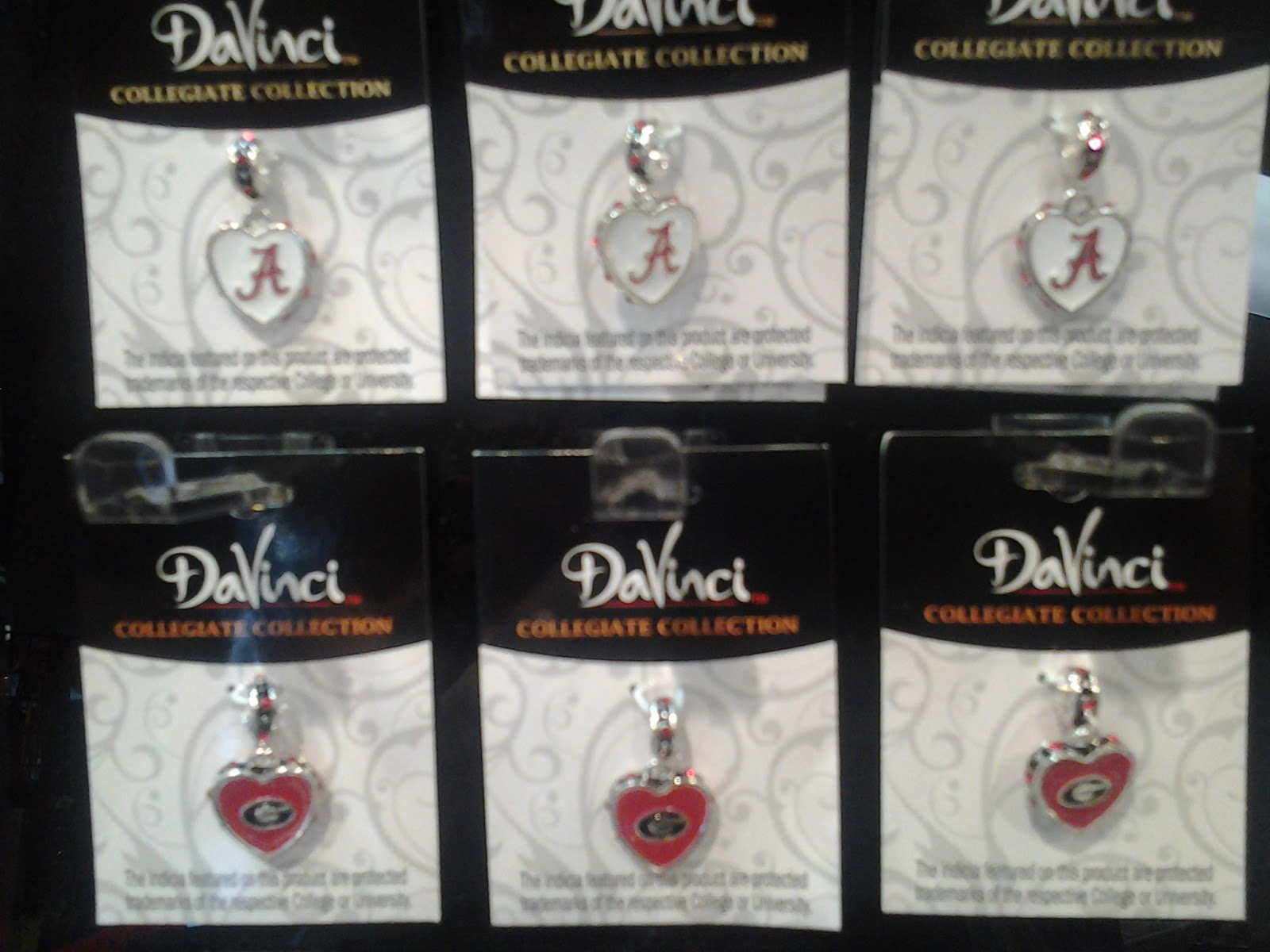 Davinci charms bracelet - College Football Season Is Coming Up Soon And You Ll Want To Be Ready To Show Team Spirit What Better Way To Do So Than With A Da Vinci Charm Bracelet Or