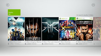 New Xbox Dashboard - xbox live