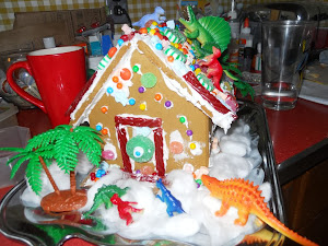 Dino House Made by Lois Lane