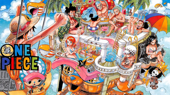 One Piece Straw Hats Law 61