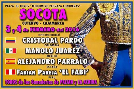 - FERIA TAURINA DE SOCOTA (CAJAMARCA) -