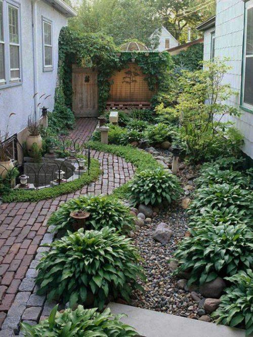 ديكورات حديقة منزل
