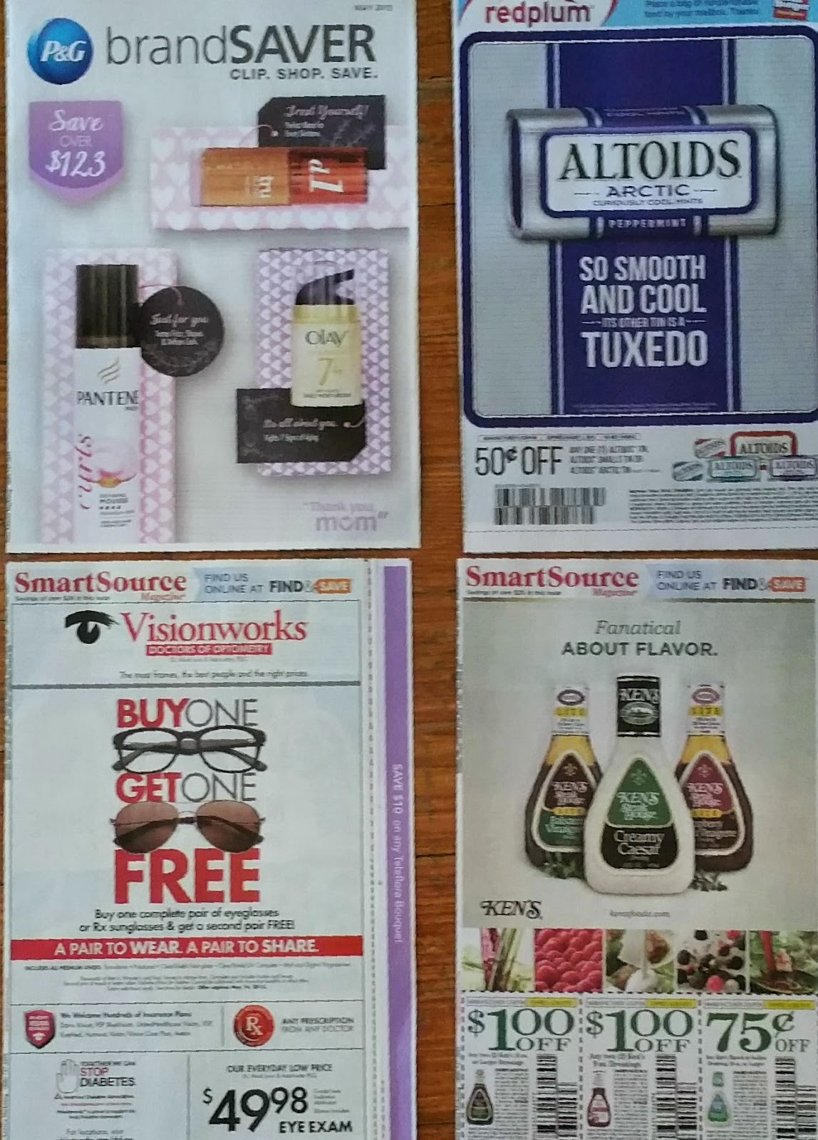 Coupon inserts for sale from california