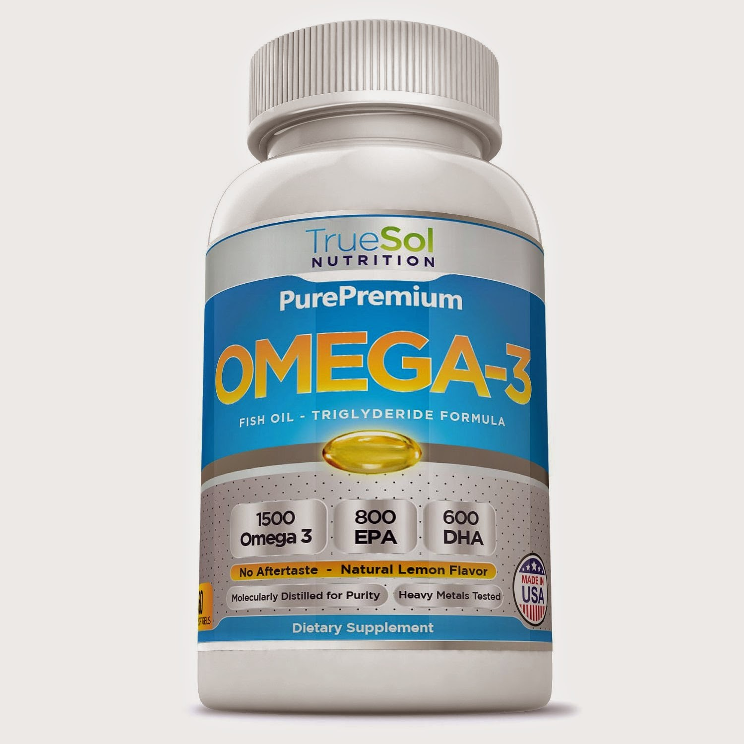 Momma4life true sol omega 3 fish oil review giveaway for Fish oil depression dosage