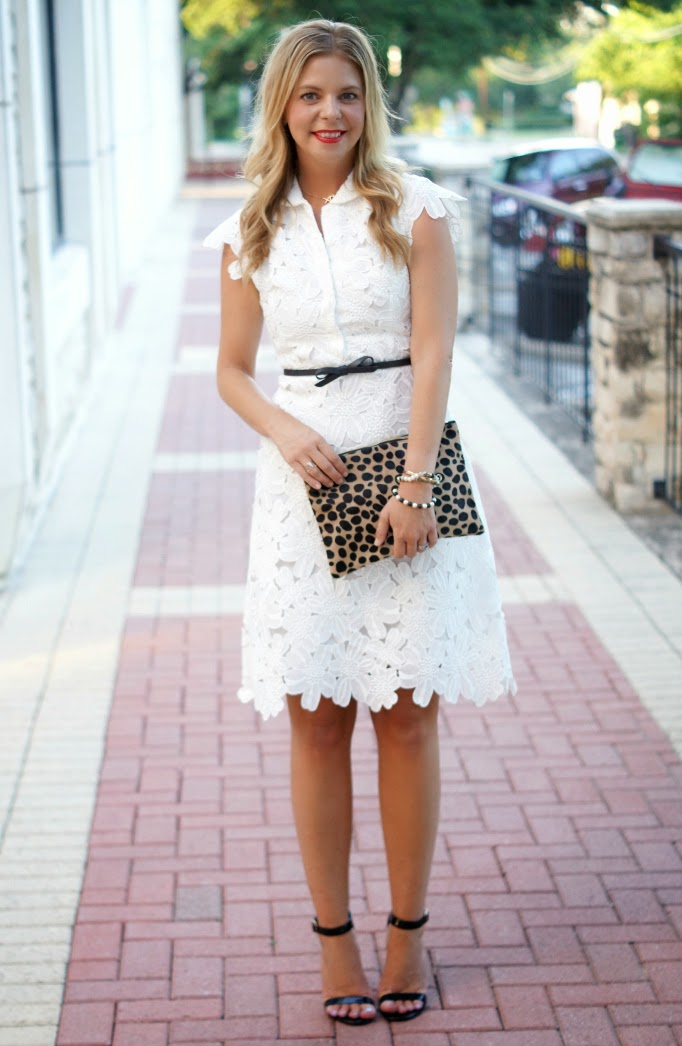 Little White Dress from Chicwish