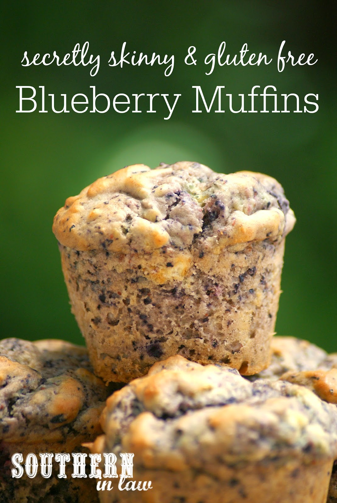 The Best Healthy Blueberry Muffin Recipe - low fat, gluten free, healthy, skinny recipe, freezer friendly, healthy lunchbox snacks,